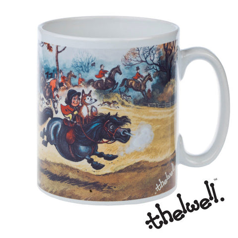THELWELL: In full cry Mug