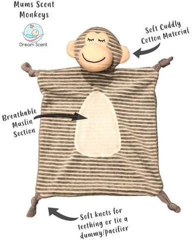 Your Scented T-Shirt Goes Inside The Comforter! Helps Babies Fall Asleep More Quickly!