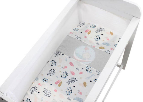 Dream Leaf Fitted Bassinet Sheet