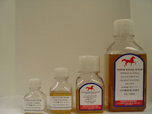 SE30HE -- Sterile Filtered Equine Serum High Endotoxin