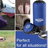 INFLATABLE CAMPING SHOWER