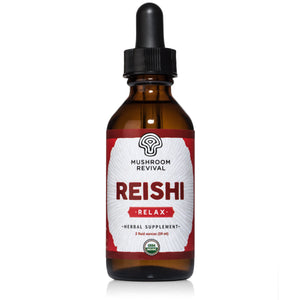 Certified Organic & Double Extracted Reishi Tincture