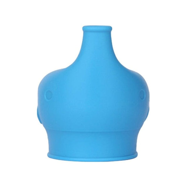 Blue stretch sippy cup