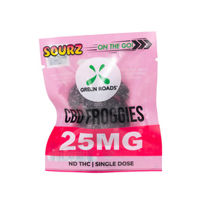 25 MG Froggies (Sourz)