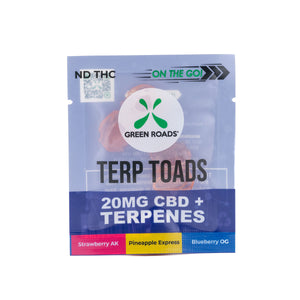 20 MG CBD + Terpenes Toads