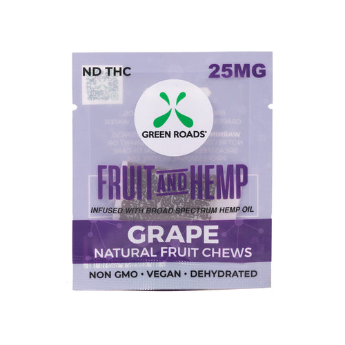 25 MG Grape Vegan Fruit and Hemp