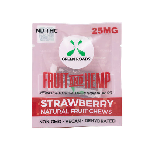 25 MG Strawberry Fruit & Hemp