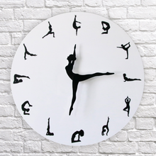 Load image into Gallery viewer, Flexible Girl Clock