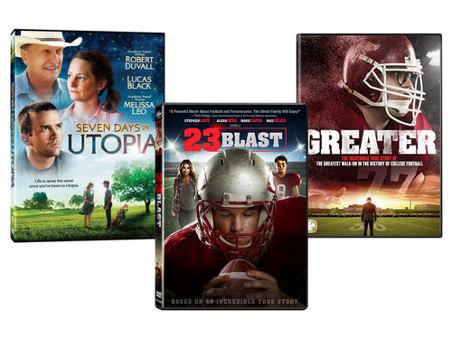 Buy All 3 Inspiring Sports Stories from Ocean Avenue Entertainment a 50% Discount