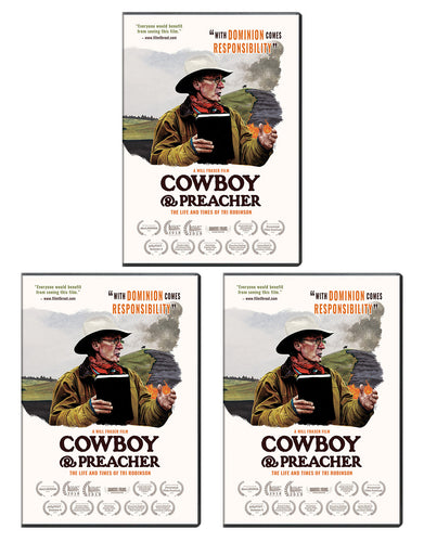Cowboy And Preacher - DVD 3-Pack