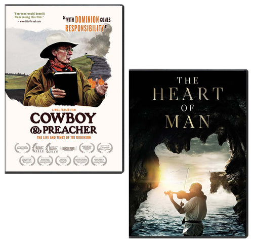 Cowboy And Preacher & The Heart of Man - DVD 2-Pack