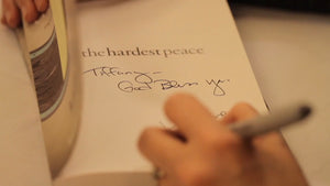 Over 35% Discount on THE HARDEST PEACE book