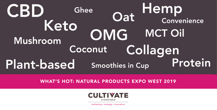 WHAT'S HOT: 2019 Natural Products Expo West