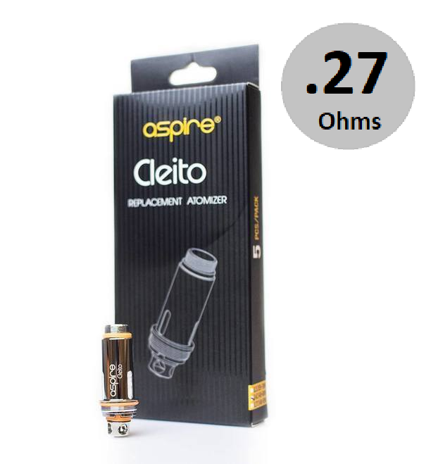 Aspire Cleito Coils (0.27Ω) 5-Pack