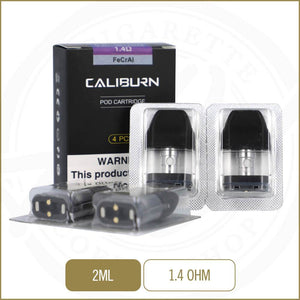 Uwell Caliburn Replacement Pods 4-Pack