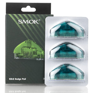 Smok Rolo Badge Pod 3-Pack Green