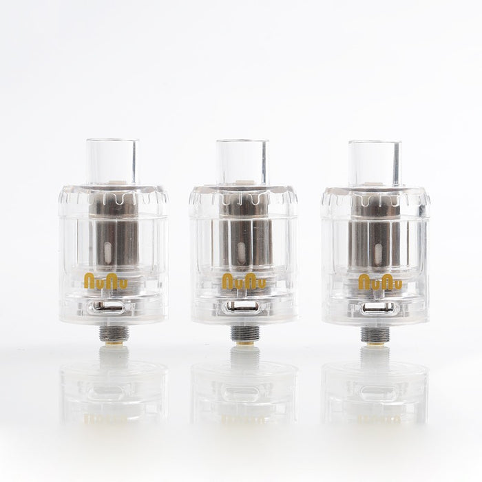 NuNu Disposable Tank 3-Pack Clear