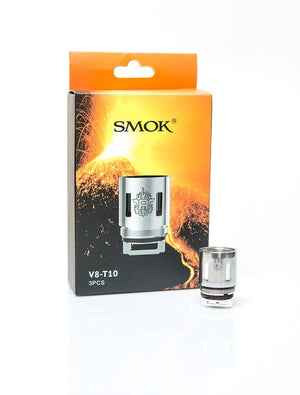 Smok TFV8 coils t10 (.12ohms) 3 pack
