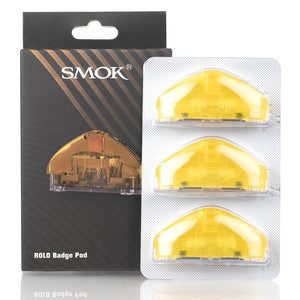 Smok Rolo Badge Pod 3-Pack Yellow