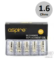 Aspire BVC Coils (1.6Ω) 5-Pack