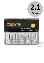 Aspire BVC Coils (2.1Ω) 5-Pack