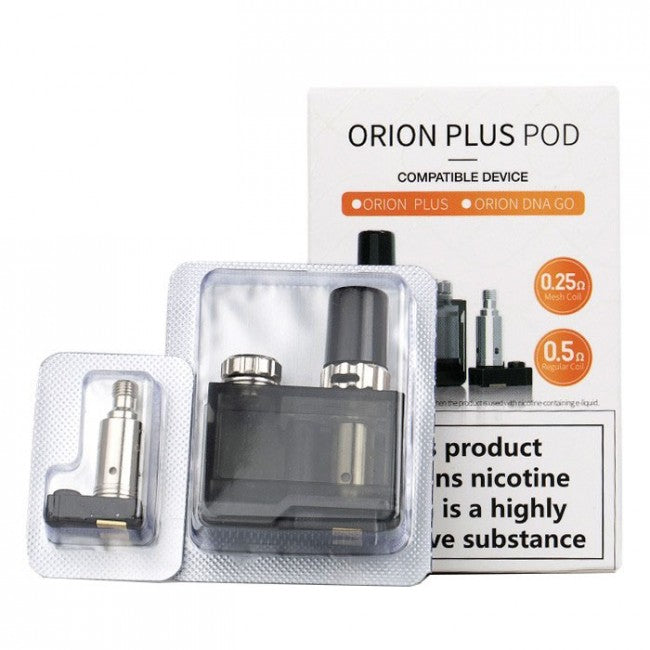 Lost Vape Orion Plus Replacement Pod and Coils - 1 Pod 2 Coils