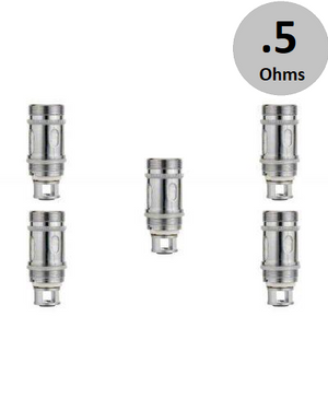 tobecco supertank mini (.5ohms) coils 5 pack
