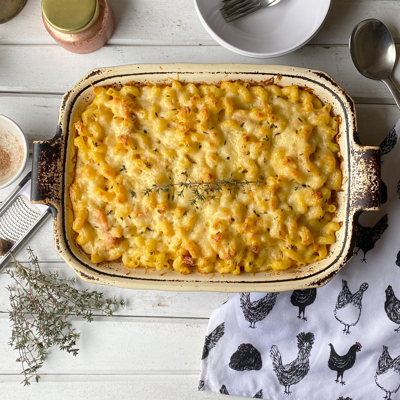 sweet and nutty butternut squash mac and cheddar cheese, recipe by Amy McCoy
