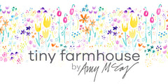 tiny farmhouse by Amy McCoy