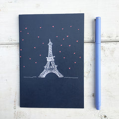 L'amour le Tour Eiffel A6 Notebook