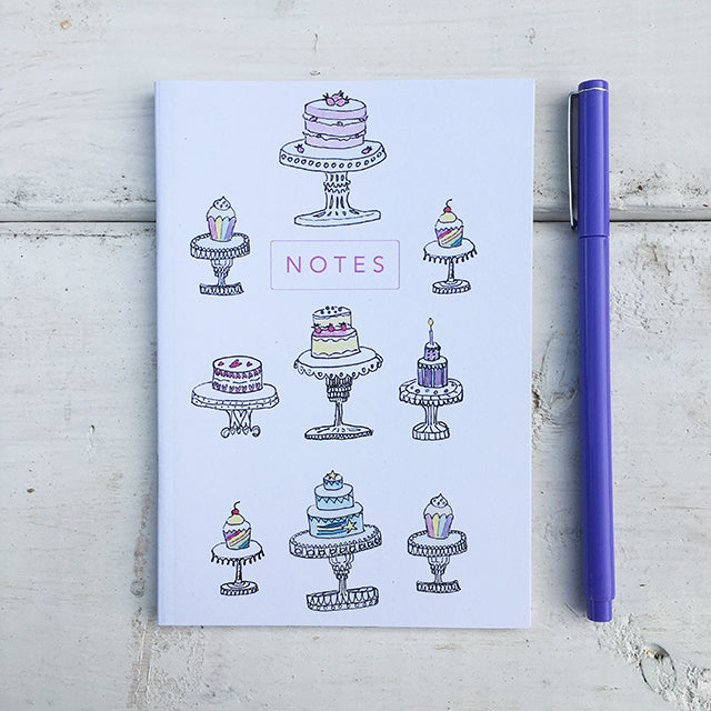Let Them Eat Many Cakes A6 Notebook