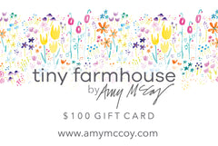 gift cards - tiny farmhouse by Amy McCoy