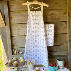 Cakes and Cupcakes Apron - tiny farmhouse by Amy McCoy