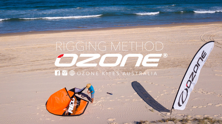 How to: rigging your kitesurfing kite