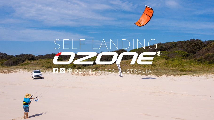 How to: self land your kitesurfing kite
