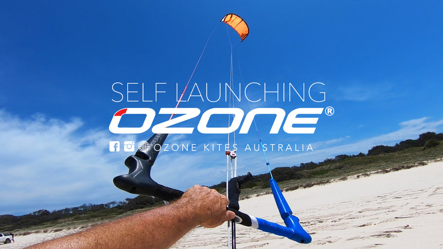 How to: self launching your kitesurfing kite
