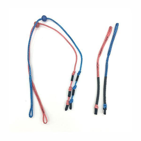 Ozone Leader Lines - Contact Bar (blue soft ends)