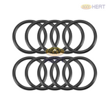 IKKY HEAT, Electric Water Heater Heating Element Rubber O-Ring Gasket, PKT 10 pieces