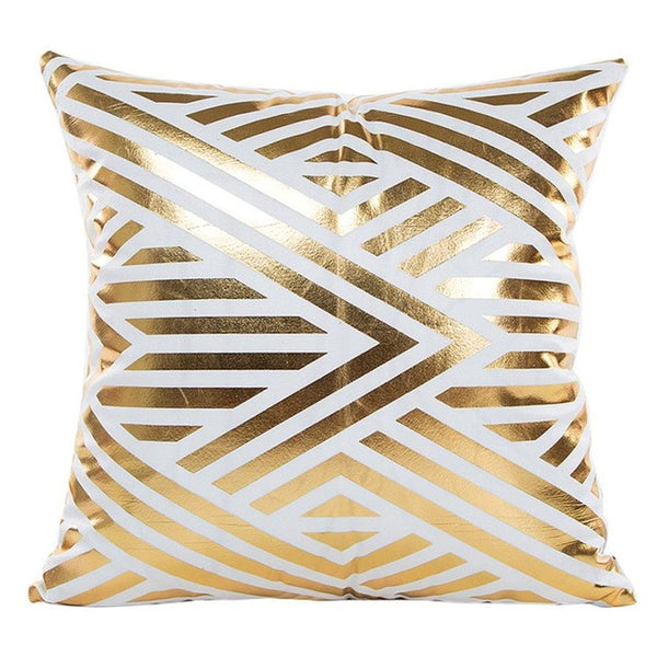Gold Foil Printing Pillow Case