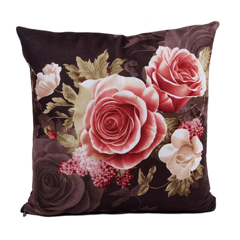 Roses Printing Pillow Case