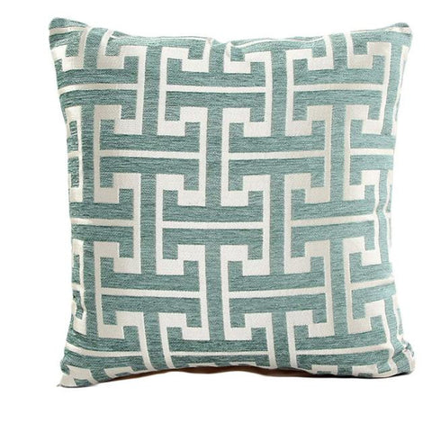 Square Print Pillow Case