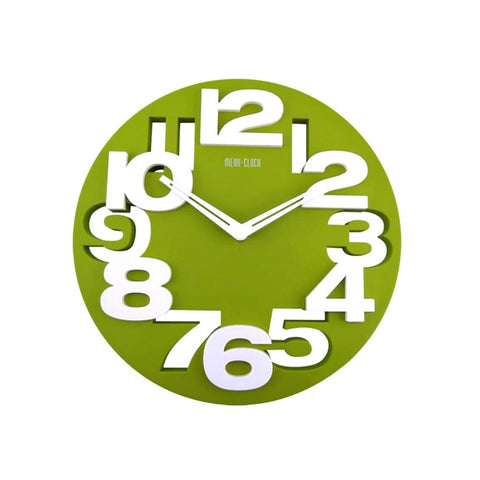 Hollow-out 3D Wall Clock