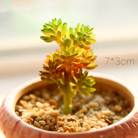 Artificial Succulent Plant Decor