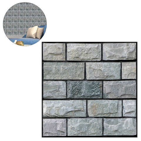 3D Brick Pattern Wallpaper