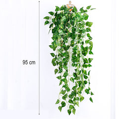 Artificial Scindapsus Plant Decor