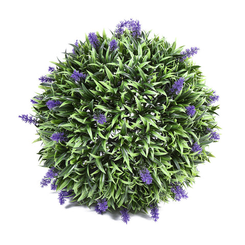 Artificial Lavender Ball Decor