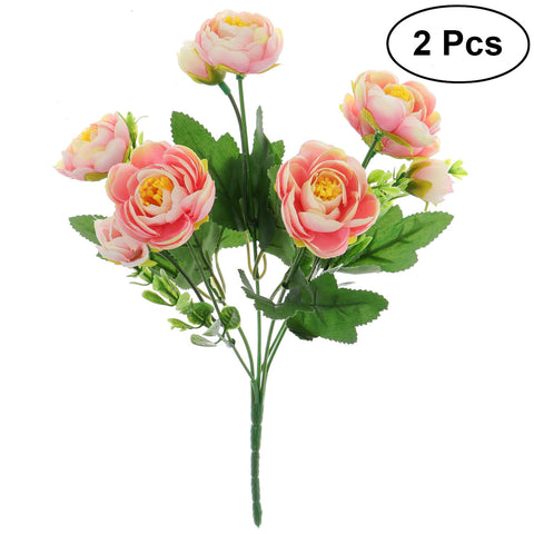 Artificial Camellia Flowers Bouquet