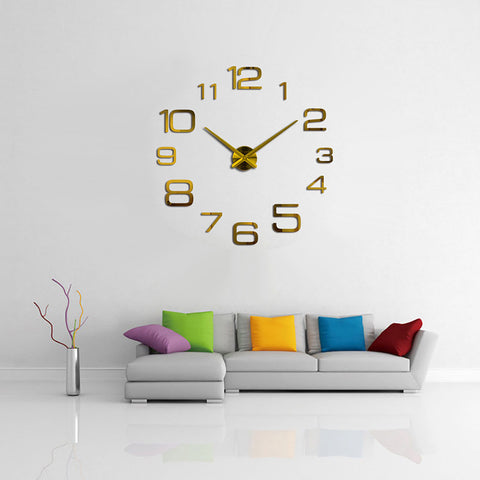 Creative Digital Wall Clock