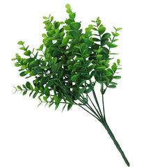 Artificial Green Leaf Decor