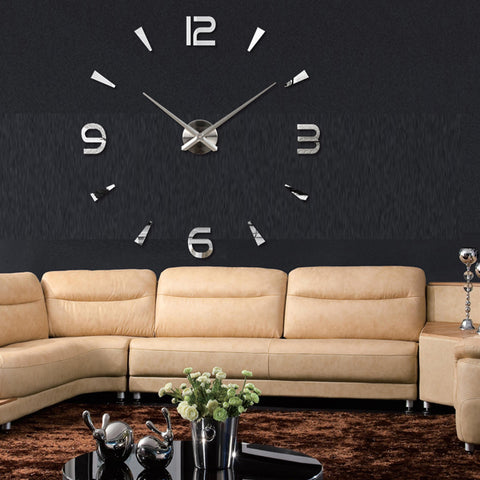 Modern Large 3D Wall Clock